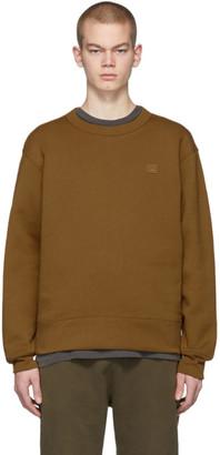 Acne Studios Brown Fairview Patch Sweatshirt