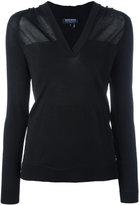 Woolrich sheer knitted top - women - Viscose/Polyamide - XS
