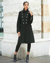 Marvin Richards Military Metal-Button Coat