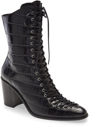 Jeffrey Campbell Archille Lace-Up Boot
