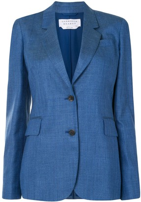 Gabriela Hearst Herringbone Tailored Blazer