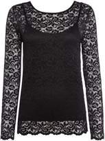 Biba Long sleeve lace top