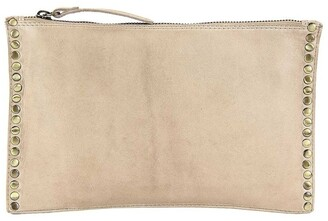 Prairie PRM204 Rivet Zip Top Crossbody Bag