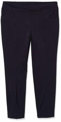 Briggs New York Women's Petite Millennium Straight Leg Ankle Pant