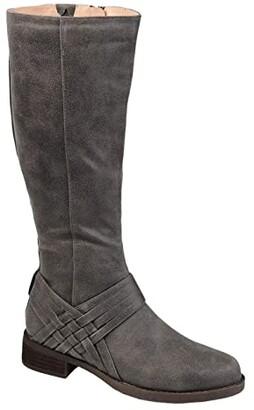 Journee Collection Meg Boot (Black) Women's Shoes