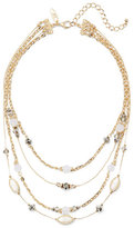 New York & Co. Beaded 4-Row Necklace