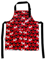 NEW Kids' scotty dog apron by Tranquil Home - The Laminated Cotton Shop