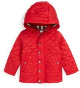 Burberry 'Jerry' Quilted Jacket (Baby Boys)