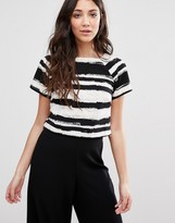 Girls On Film Stripe T-Shirt