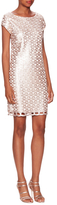 Laundry by Shelli Segal All Over Sequin A Line Dress