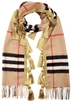 Burberry Giant Plaid Cashmere Scarf