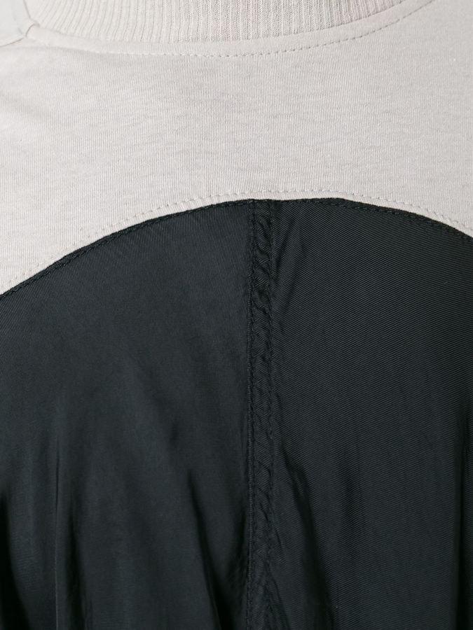 Rick Owens draped panel top