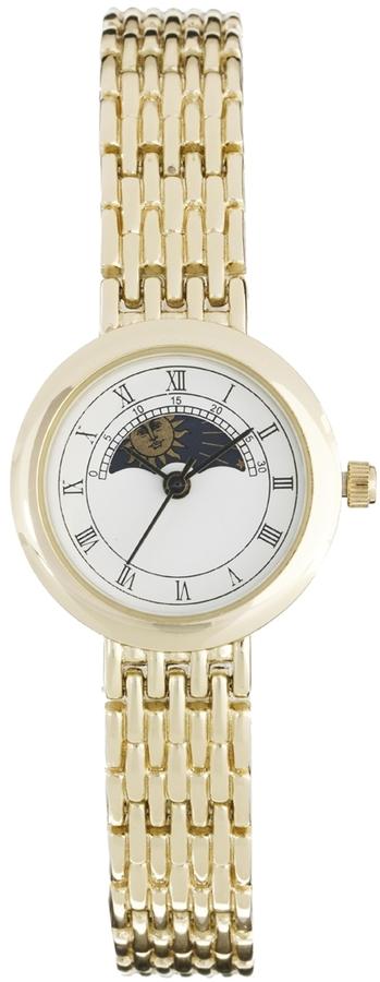 Asos Vintage Style Rotating Sun Moon Watch