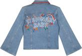 MiH Jeans Arch Denim Jacket Customised By Alex Carl