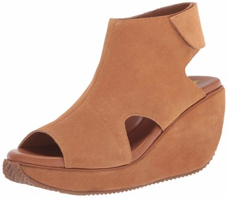 Volatile Women's Elodie Suede Ankle Strap Wedge Sandal