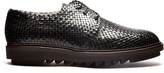 Dolce & Gabbana Woven-leather derby shoes