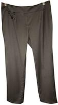 Celine Grey Wool Trousers