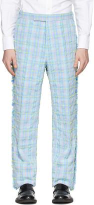 Thom Browne Multicolor Tweed Frayed Trousers