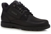 Rockport Black 'treeport' Leather Hiking Boots