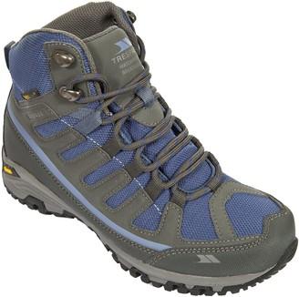Trespass Tensing Steel/Blue Ice 40 Waterproof Hiking Boots for Women UK Size 7