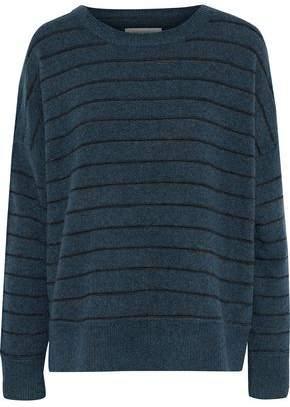 By Malene Birger Andoles Striped Stretch-knit Sweater