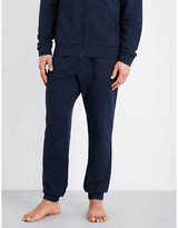 Emporio Armani Eagle Cotton-terry Jogging Bottoms