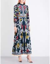 Mary Katrantzou Mizar crepe gown