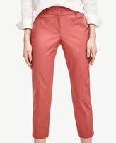 Ann Taylor Petite Kate Stretch Cotton Cropped Pants