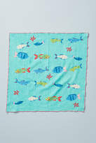 Anthropologie Fish-Embroidered Napkin