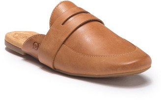 Børn Cayo Leather Penny Loafer Mule