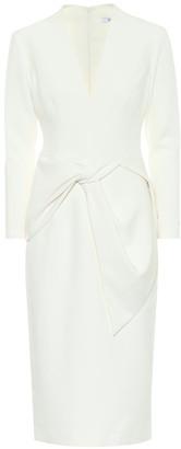 Safiyaa Leticia stretch-crApe midi dress