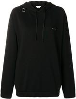 Alyx ring detail oversized hoodie