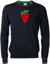 Paul Smith strawberry motif jumper - men - Merino - S