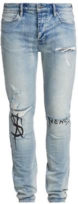 Ksubi Van Winkle Punk Skinny Jeans