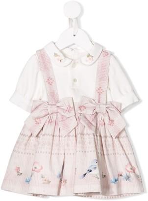 Lapin House bow embellished short dress