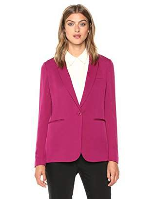 Theory Women's One Button Grinson Blazer