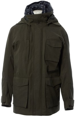 N. Non Signé / Unsigned Non Signe / Unsigned \N Khaki Synthetic Jackets