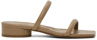 Maison Margiela Beige Strappy Tabi Sandals