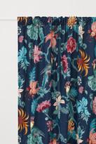 H&M 2-pack Velvet Curtain Panels - Blue