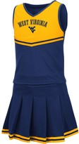 Colosseum Girls Youth Navy West Virginia Mountaineers Pinky Cheer Dress