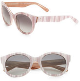 Kate Spade Melly 53mm Round Sunglasses