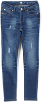 7 For All Mankind Alpha The Skinny Jeans - Girls