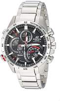 Casio Men's 'Edifice Connected' Quartz Stainless Steel Casual Watch, Color:Silver-Toned (Model: EQB-501XD-1ACF)