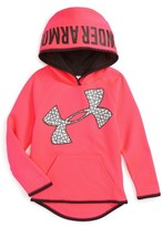 Under Armour Girl's Jumbo Logo Fleece Hoodie