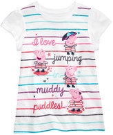 Nickelodeon Nickelodeon's Peppa Pig Stripe T-Shirt, Toddler Girls (2T-5T)