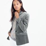 J.Crew Regent blazer in velvet