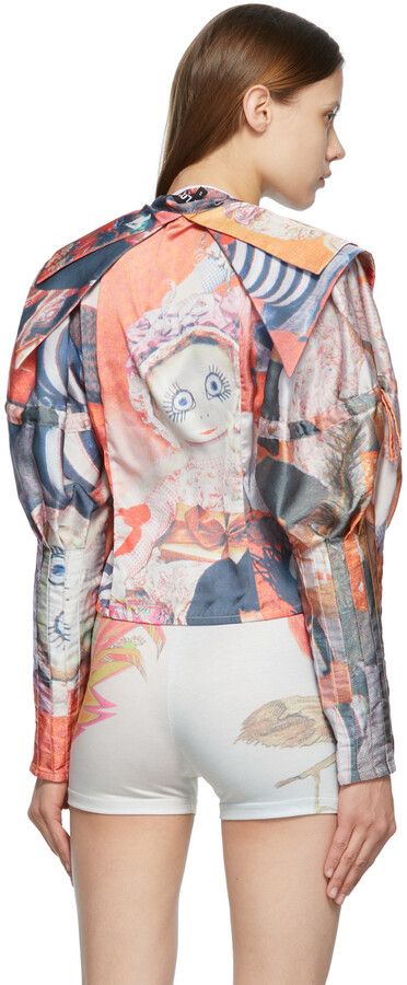 Thumbnail for your product : Chopova Lowena Multicolor Double Collar Doll Blouse