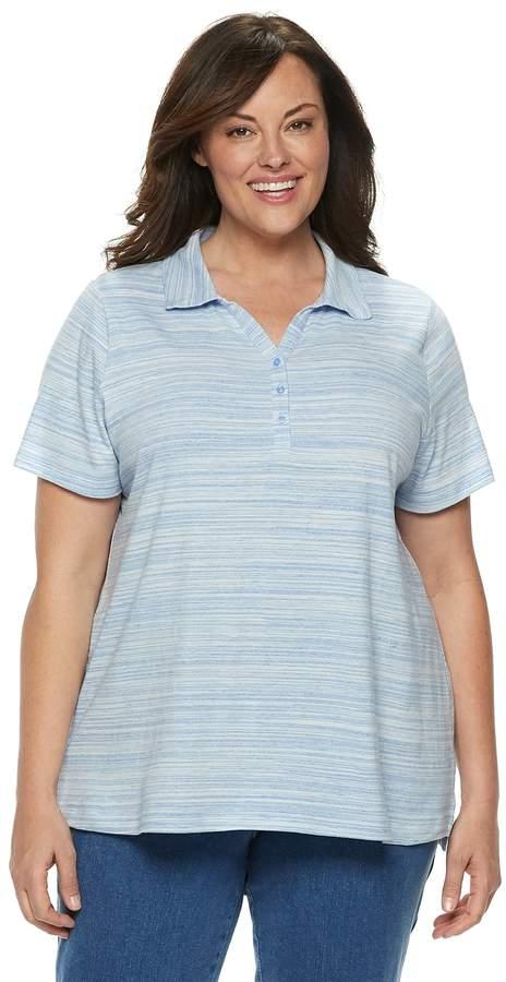 c091c1db1747cc Plus Size Polo Shirts For Women - ShopStyle