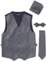 Asstd National Brand Tuxedo Vest 4-Piece Set