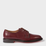 Paul Smith Men's Bordeaux Calf Leather 'Boyd' Derby Shoes